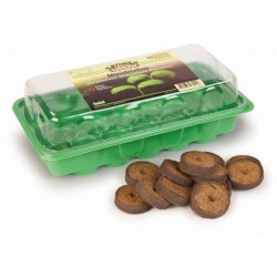 Miniskleník zelený + 15x lisovaný substrát v tabletách