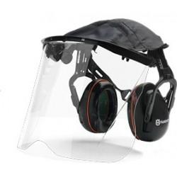 Chrániče sluchu so štítom z plexiskla Husqvarna